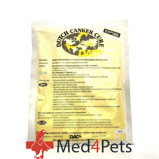 Dac Pharma Dutch canker cure