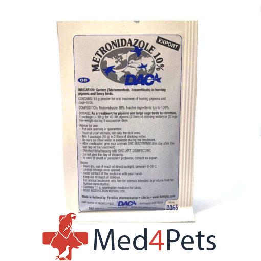 Dac Pharma Metronidazool 10%