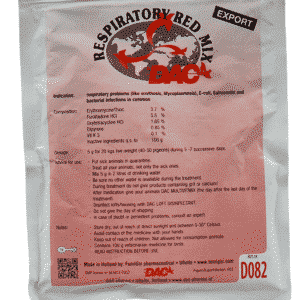 Dac Pharma Respiratory Red Mix