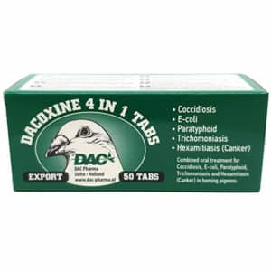 Dac Pharma Dacoxine Tabs 4 in 1