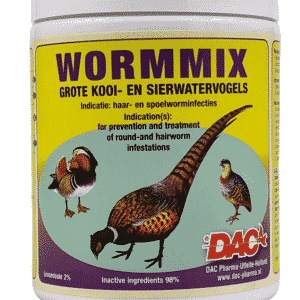 Wormmix Powder birds